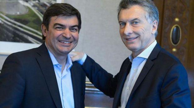 Macri y Omar de Marchi