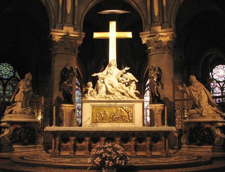 """""""Piedad"""" (o El Descendimiento de la cruz) de Nicolas Coustou"""