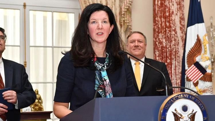 Kimberly Breier, Subsecretaria de Estado para Asuntos del Hemisferio Occidental de EEUU