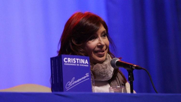 El sábado pasado CFK presentó su libro en Río Gallegos (@UniCiudadanaAR)