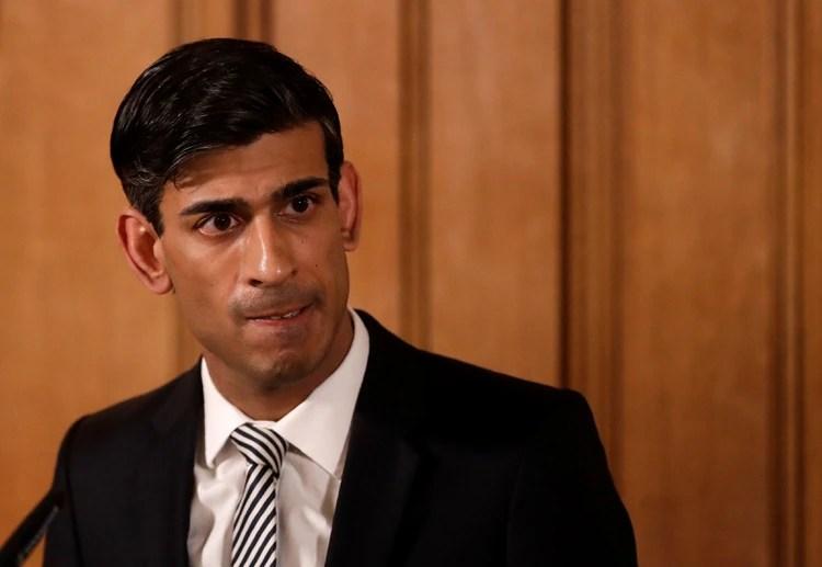 El responsable de la economía británica, Rishi Sunak. Foto: Matt Dunham/via REUTERS