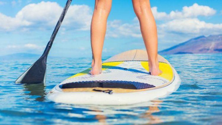 El paddle surf permite trabajar todos los músculos del cuerpo, además del cerebro(iStock)