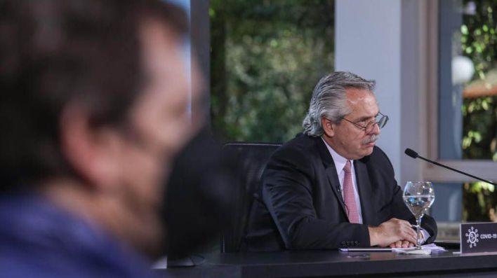 Alberto fernandez anuncio cuarentena