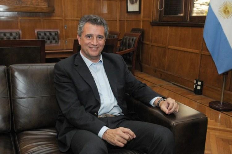 El ministro de Agroindustria, Luis Etchevehere