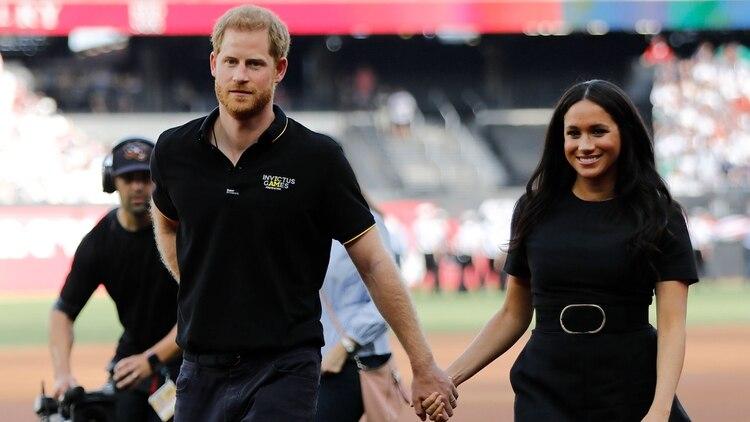 Los duques de Sussex han sido criticados en varias ocasiones (AFP)