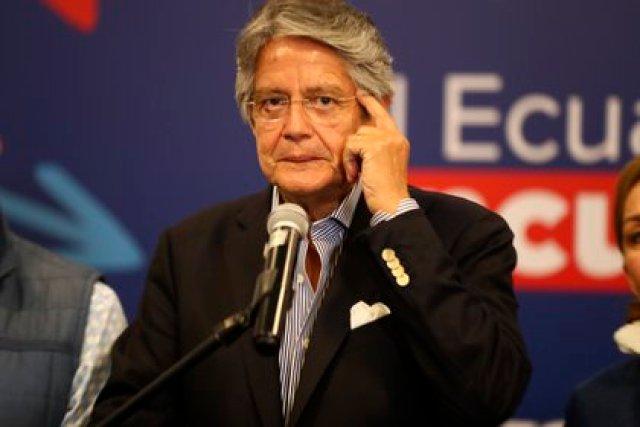 El presidente electo de Ecuador, Guillermo Lasso. EFE/ José Jácome/Archivo
