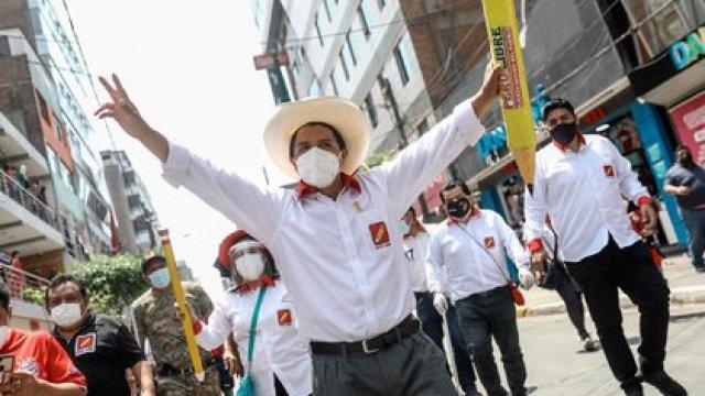 Pedro Castillo, candidato presidencial del partido Perú Libre (EFE)