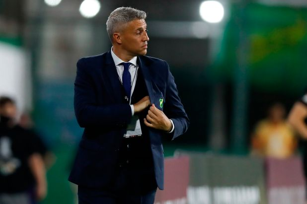 El equipo de Hernán Crespo buscará una nueva victoria en la Copa Libertadores (EFE)