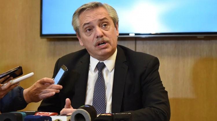 Alberto Fernández le pidió al Presidente que renegocie la deuda con el FMI