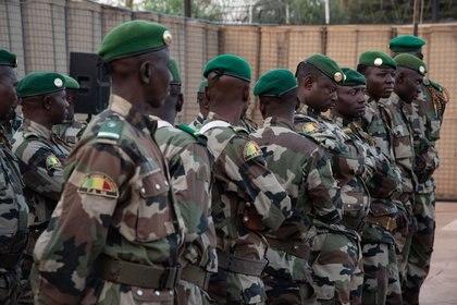 Soldados de Mali se sublevaron contra el Gobierno (NICOLAS REMENE / ZUMA PRESS)