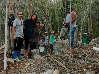 El Nuno en la selva de Tulum donde intentan construir una ciudad sostenible