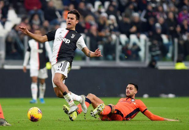Soccer Football - Serie A - Juventus v Udinese - Allianz Stadium, Turin, Italy - December 15, 2019  Juventus' Paulo Dybala in action          REUTERS/Massimo Pinca
