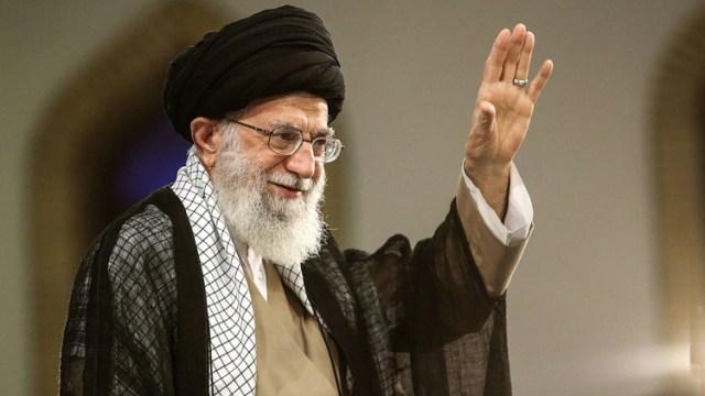 El ayatolá Ali Khamenei, líder supremo de Irán (AFP)