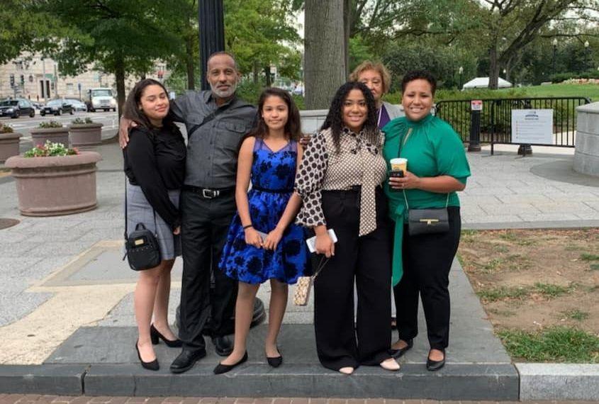 La familia llegó a Washington, pero Grant no estuvo en la ceremonia con el presidente (Foto: FacebooK)
