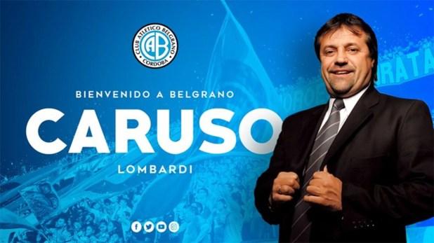 Caruso hizo una llamativa promesa en caso de ascender con Belgrano a Primera