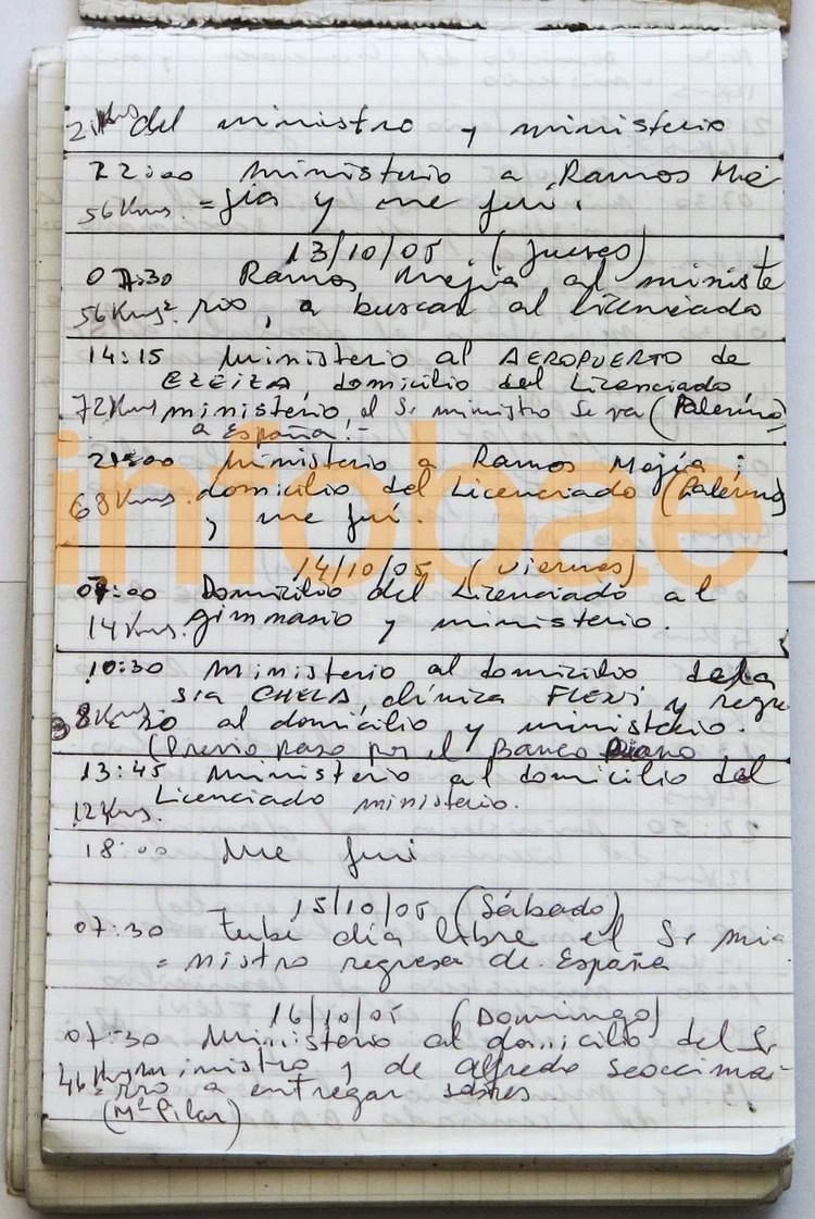 Los cuadernos de Oscar Centeno permitieron investigar a funcionarios y empresarios
