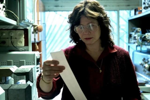 Emely Watson como la científica Ulana Khomyuk, que nunca existió en la realidad (HBO)