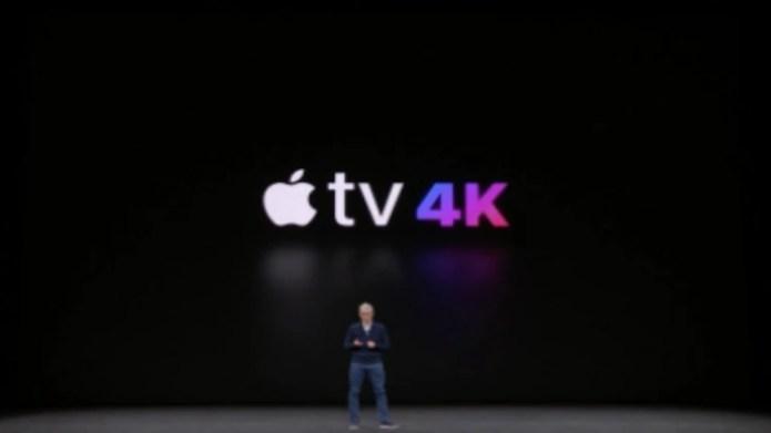 Apple TV fue presentado en diciembre de 2017 por Tim Cook, CEO de la empresa (Foto: Archivo)