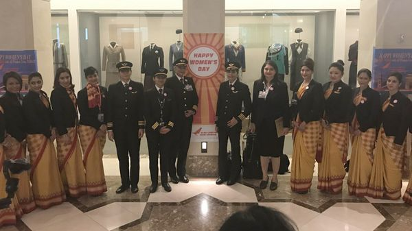 Air India dice haber roto un récord y se comunicó con los Guinness World Records (@flySFO)