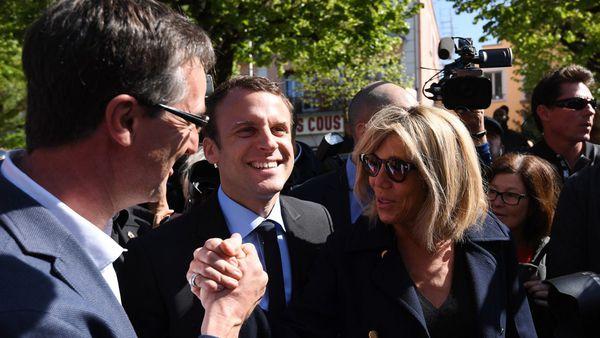 Trogneuxse convirtió en una figura central de la campaña de Macron (AFP)