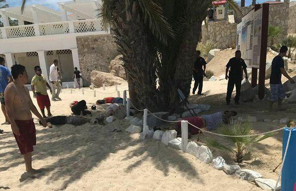 Los disparos se escucharon en toda la zona, explotada por el turismo (Facebook: Jesús Montaño Quiñonez)