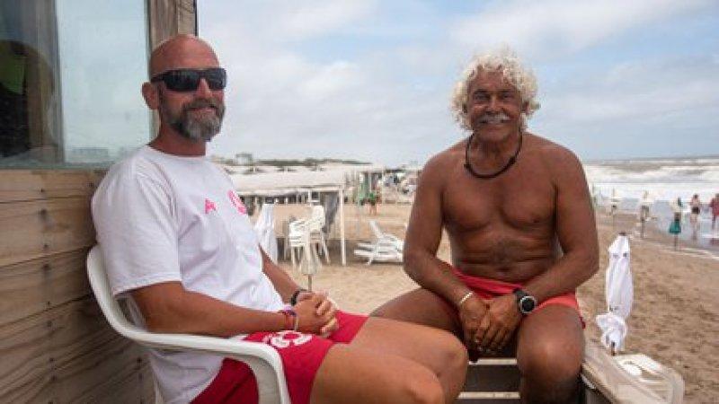 """""""El Ronco es un maestro, un amigo, es de la vieja guardia, con él se aprende todos los días"""", dice Gustavo sobre su compañero (Diego Medina)"""