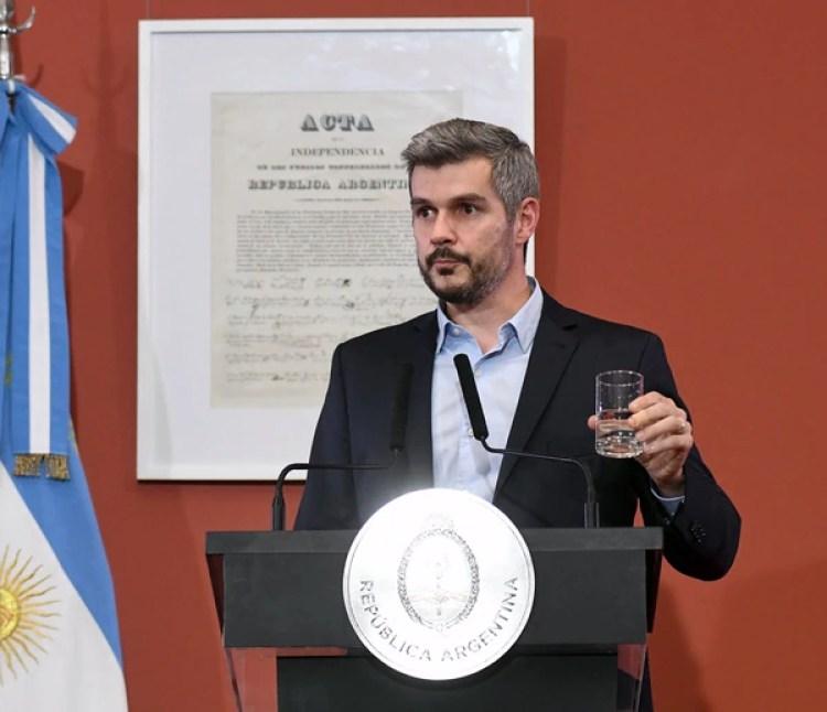 El jefe de Gabinete, Marcos Peña (Fabian Ramella)