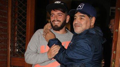 Diego Maradona y Junior empezaron a tener un vínculo más cercano a partir del 2016.