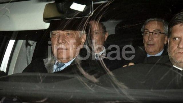 Aldo Roggio al llegar a los tribunales de Comodoro Py