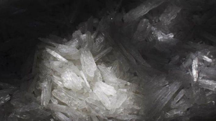 La metanfetamina, también conocida como cristal, es la segun da droga más consumida y es muy adictiva (Foto: AP)