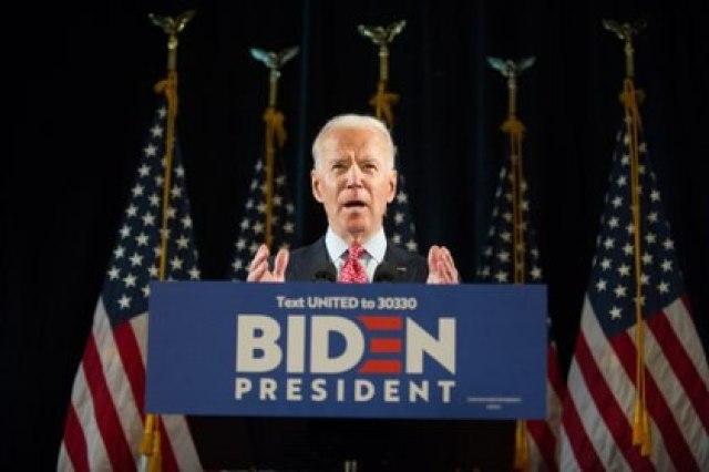 Joe Biden, el presidente electo de EEUU (EFE/EPA/TRACIE VAN AUKEN/Archivo)