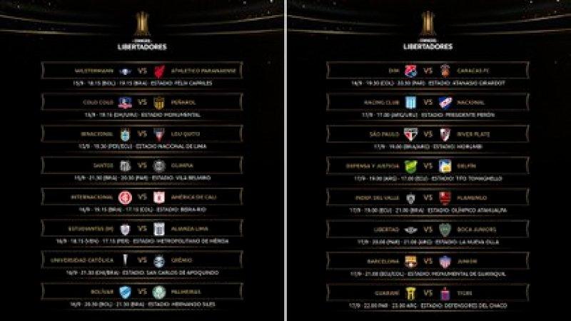 Así se desarrollará la tercera jornada de la fase de grupos de la Copa Libertadores
