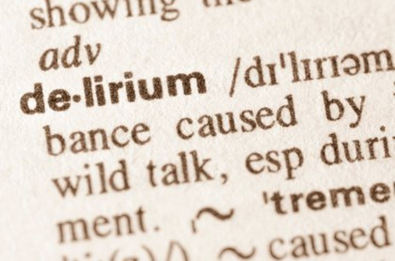 Delirium is defined as the serious alteration of mental abilities that generates confused thoughts and a decrease in your awareness of the environment (Shutterstock)
