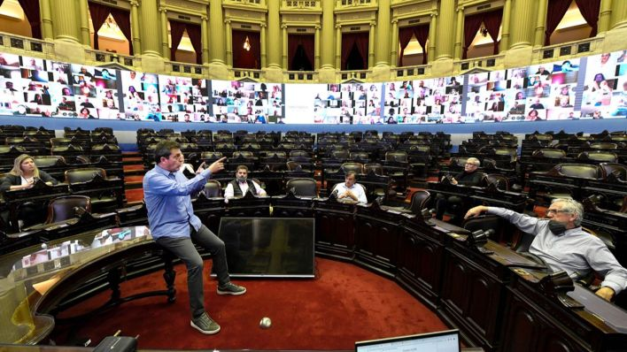 El Congreso se prepara para la primera sesión virtual de su historia