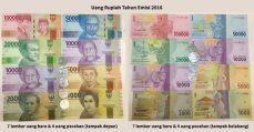 uang rupiah baru 2016