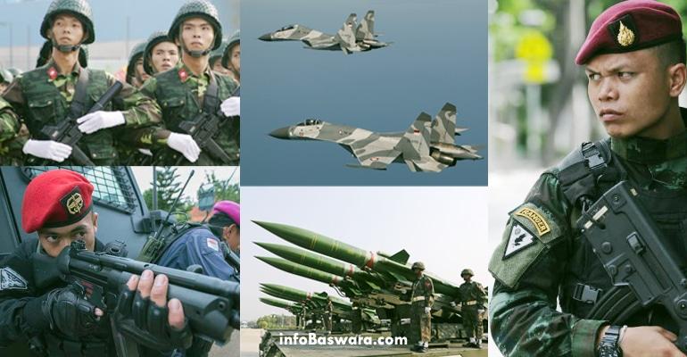 5 Militer Terkuat di Asia Tenggara 2017