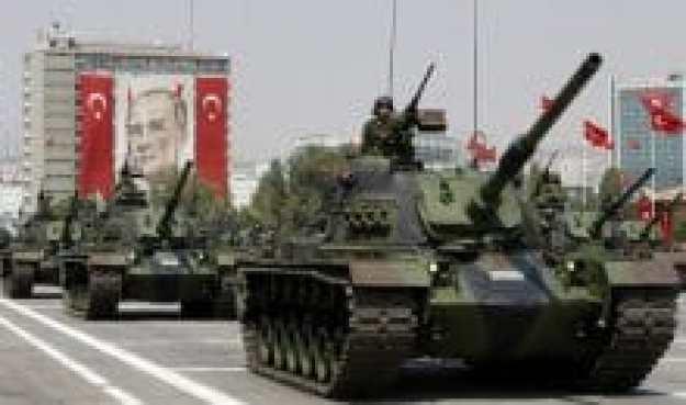 militer turki diperhitungkan di dunia