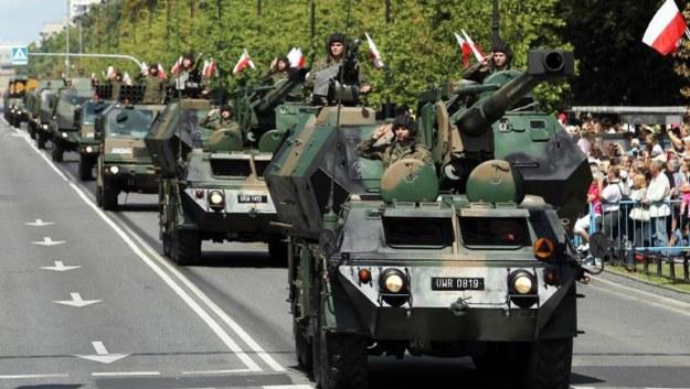 parade tank polandia