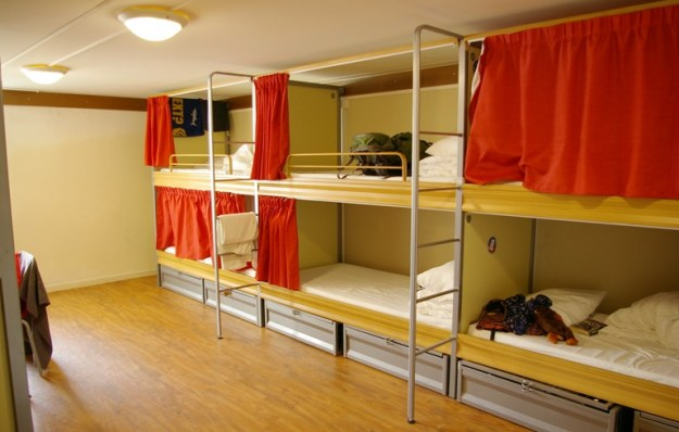 salah satu hostel di singapura