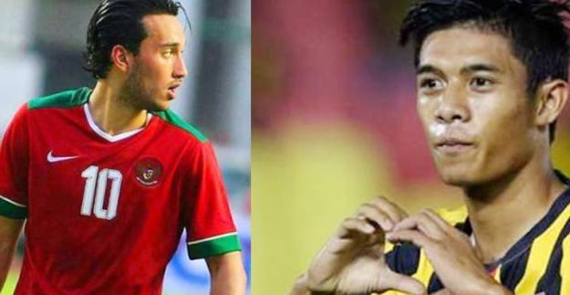 adu tajam striker timnas indonesia vs malaysia