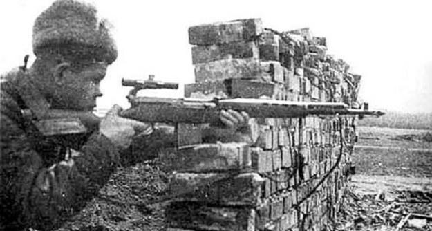 aksi sniper di pertempuran stalingrad