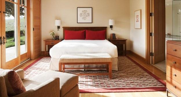 suasana kamar Rosewood CordeValle hotel terbaik dunia 2017