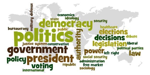 istilah perpolitikan