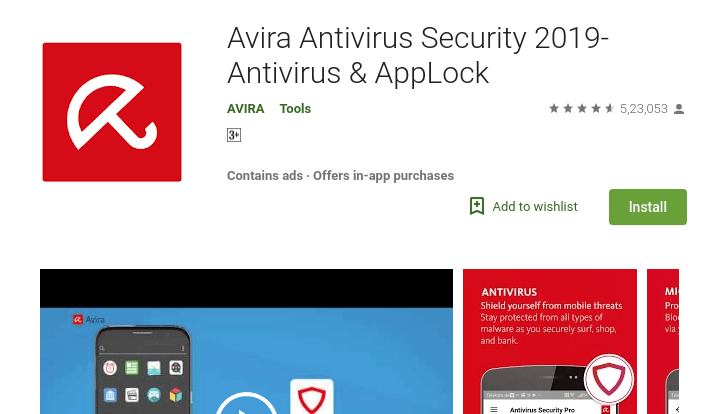Best Free Antivirus Applications For Android In 2019