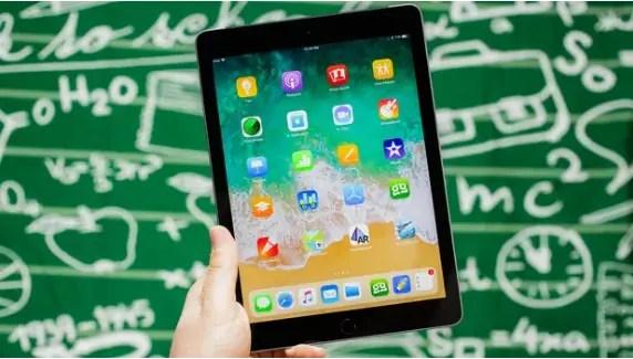 iPad selection