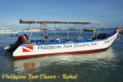 bohol fundivers boat