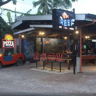 The Reef Pizza Restaurant In Panglao Front