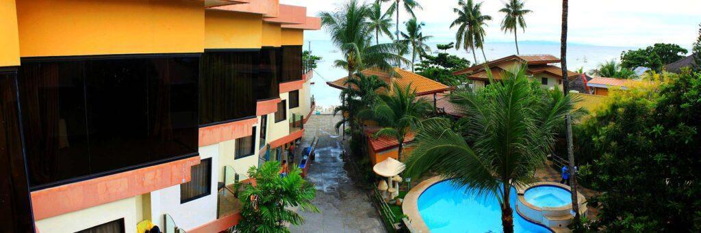 Lost Horizon Beach Dive Resort Roof View E