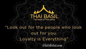 The Thai Basil Restaurant Panglao Island Bohol Philippines005