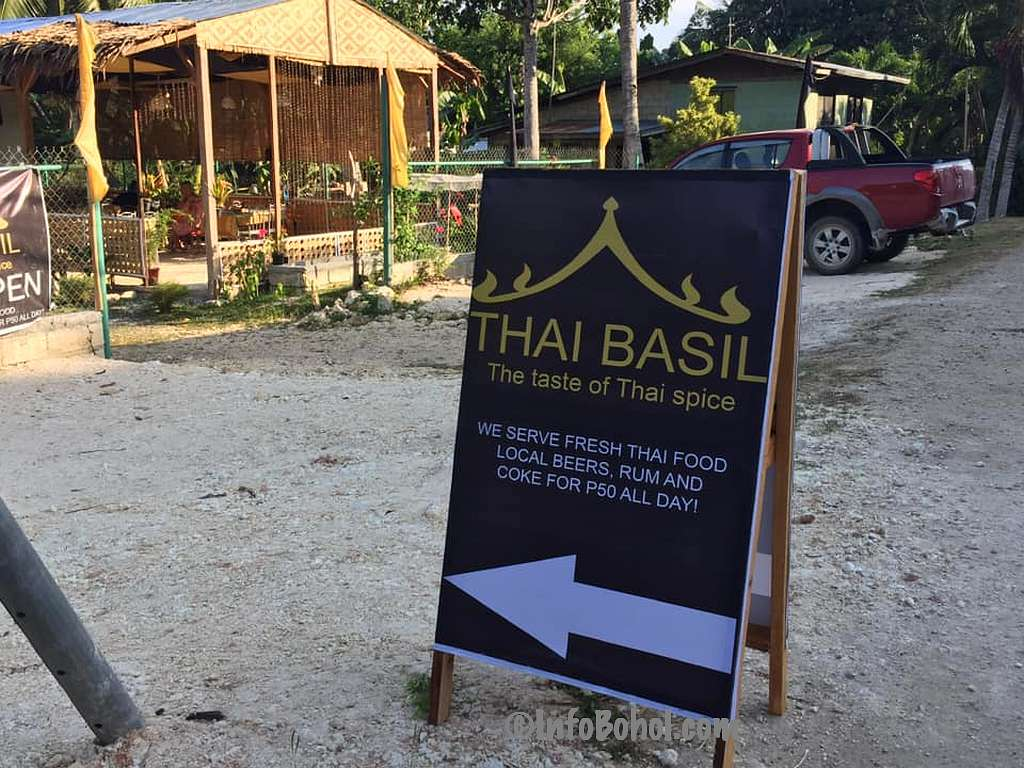 The Thai Basil Restaurant Panglao Island Bohol Philippines037